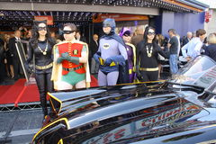 Batman and Robin Stock Images