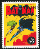 Batman. UNITED STATES - CIRCA 2006: stamp printed by United states, shows Batman, circa 2006 stock photos