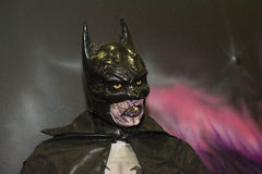 Batman-zombie Royalty-vrije Stock Fotografie