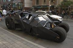 batmobile黑暗的骑士 库存图片