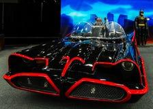 1966年Batmobile (1955年福特林肯Futura概念) 库存图片
