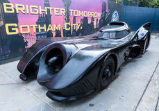 Batmobile - Batman's Car Royalty Free Stock Photo