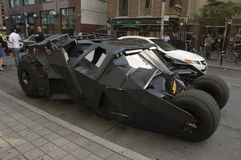 batmobile mörk riddare Arkivbilder
