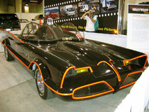 Batmobile utställning, Los Angeles County mässa, Kalifornien, USA royaltyfria bilder
