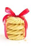 batożący pinwheels shortbread Fotografia Royalty Free