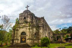 Bato kościół, Catanduanes, Filipiny zdjęcia royalty free