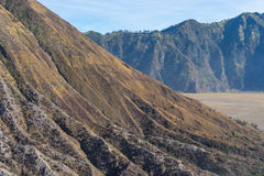 Batok山纹理  库存图片