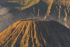 Batok火山山 库存照片