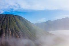 Batok in east java , indonesia. Batok mountain in east java , indonesia Stock Image