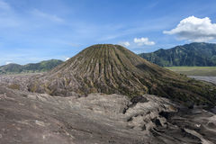 Batok on  Mount Bromo. Indonesia Royalty Free Stock Images