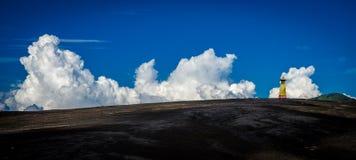 Batok vulkan fotografering för bildbyråer