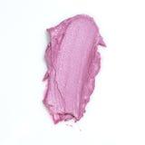 Batom cor-de-rosa borrado Imagem de Stock