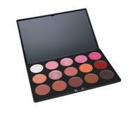 Batom da paleta. cosméticos Imagem de Stock