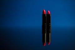 Batom vermelho Foto de Stock Royalty Free