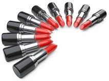Batom vermelho ilustração royalty free