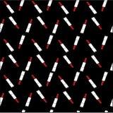 Batom vermelho Tela da cópia cópia com batom Foto de Stock Royalty Free