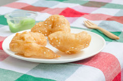 Baton de pain frit Photos libres de droits
