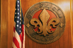 Baton Rogue - inside of State Capitol royalty free stock photo