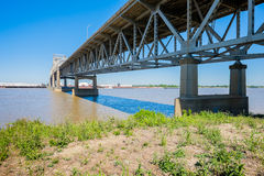 Baton Rouge Bridge Stock Image