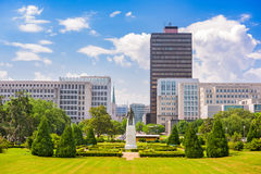 Baton Rouge Downtown Stock Photography