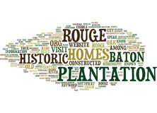 Baton Rouge Homes For Sale Word Cloud Concept Royalty Free Stock Photo