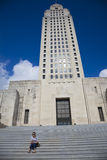 Baton Rouge, Louisiana - State Capitol Stock Photo