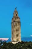Baton-Rouge, Louisiana - Zustand-Kapitol Lizenzfreie Stockfotos