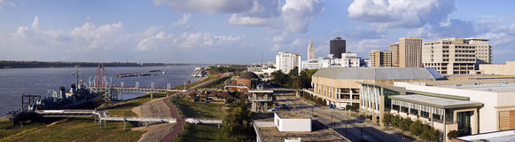 Baton Rouge Panorama Royalty Free Stock Photography
