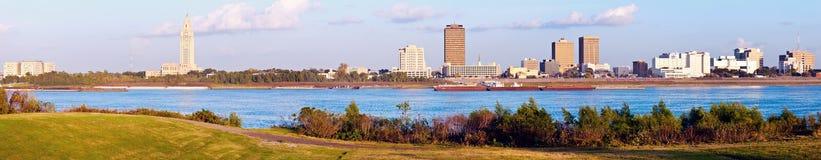 Baton Rouge panoramique image libre de droits