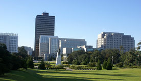 Baton Rouge Skyline. Skyline of downtown Baton Rouge, Louisiana stock photos