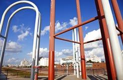 Baton Rouge strukturstrand Arkivbild