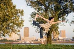 Baton Rouge yoga Arkivfoton