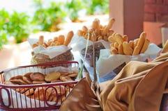 Batons de pain et crakers traditionnels cubains Image stock