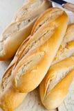 Batons de pain français Photo libre de droits