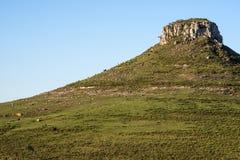Batovi Hill, Tacuarembo in Uruguay. Idyllic landscape of Batovi Hill, Tacuarembo in north-central Uruguay Stock Images
