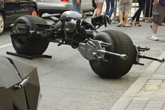 Batpod Motorcycle Royalty Free Stock Photography