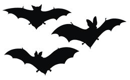 Bats royalty free illustration