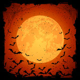 Bats on dark background Stock Photos