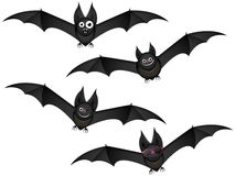 Bats in flight Stock Photos