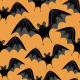 bats halloween безшовный Стоковые Изображения RF