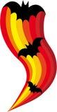 bats halloween Стоковое Фото