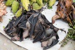 Bats at market Stock Photos