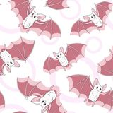 Bats pattern Royalty Free Stock Images