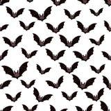 Bats pattern Royalty Free Stock Image