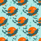 Bats seamless pattern Stock Photography