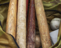 Bats and Softballs Stock Photo