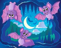 Bats theme image 2 Stock Image