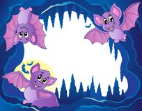 Bats theme image 3 Royalty Free Stock Photo