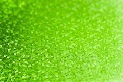 Batsground verde abstrato com círculos pequenos, para o invitati do partido fotografia de stock royalty free