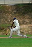 A batsman Royalty Free Stock Image
